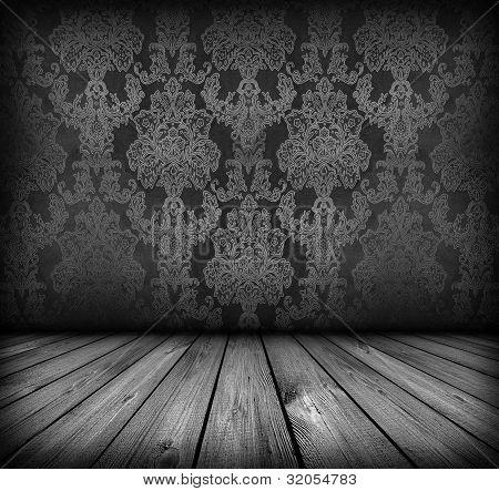 Dark Vintage Room