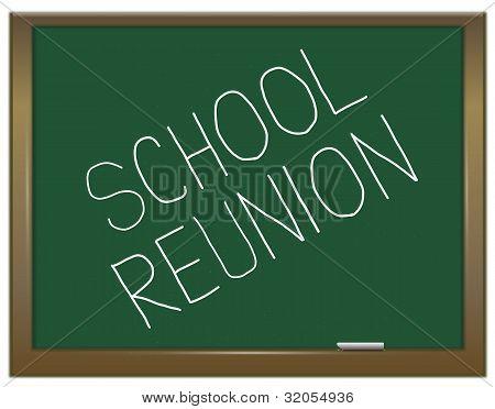 School Reunion Concept.
