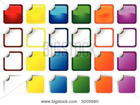 Square Promo Stickers