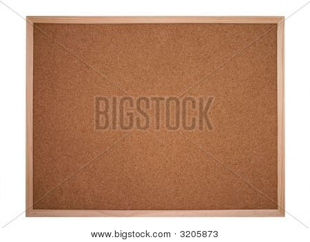 Cork Board Or Bulletin Board