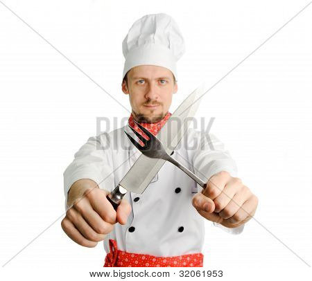 Chef With Tools