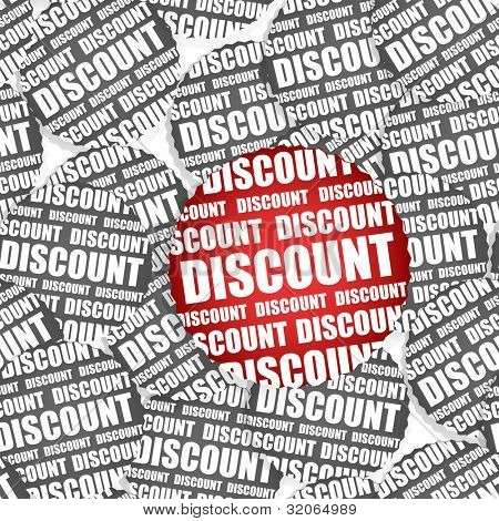 Discount paper stickers seamless texture