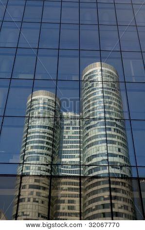 France, Modern Building In The District Of La Defense