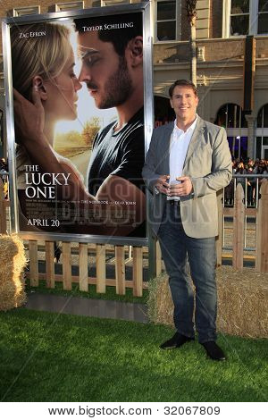 LOS ANGELES - APR 16: Nicholas Sparks at the premiere of Warner Bros. Pictures' 'The Lucky One' at Grauman's Chinese Theatre on April 16, 2012 in Los Angeles, California