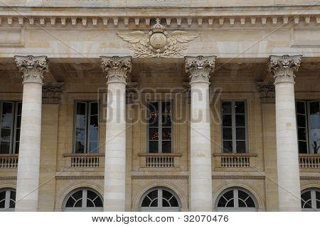 France, The Grand Theatre De Bordeaux