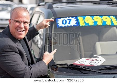 Car Sales Man