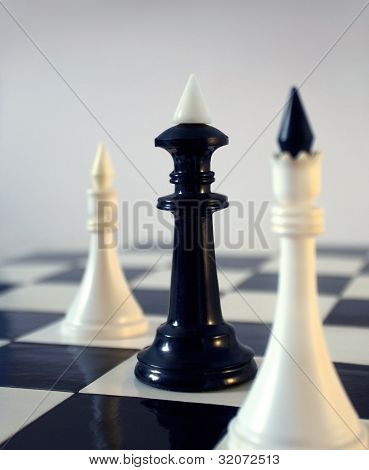 Chess in its contrast