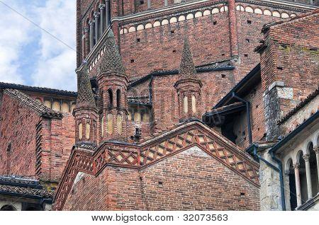 St. Antonino Basilica. Piacenza. Emilia-Romagna. Italy.
