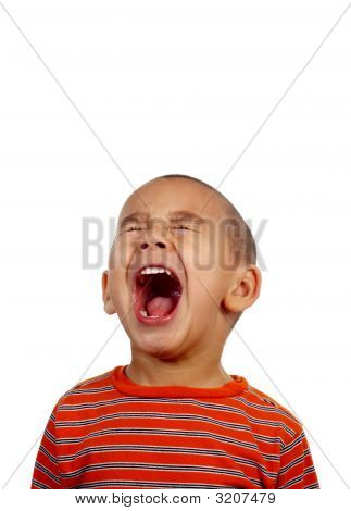Boy Screaming