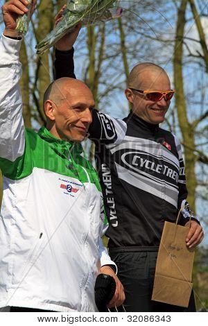 John Aalbers And Armand Van Der Smissen Celebrating Their Win