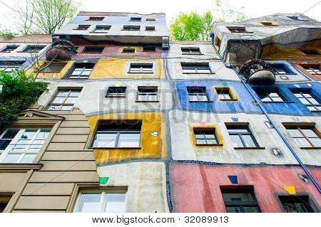 The Hundertwasser House In Vienna Is One Of Austria's Architectural Highlights