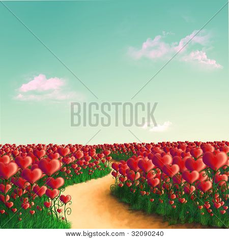 meadow of hearts