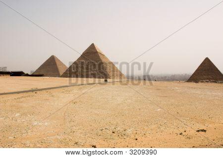 Pyramids In Gizah