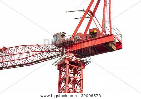 High crane close-up