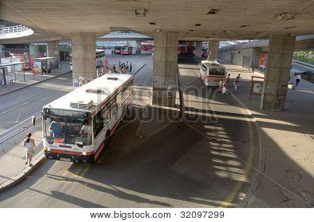 bus station in Bratislava