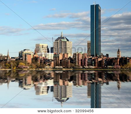 Skyline of Back Bay Boston, Massachusetts