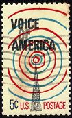 Stamp Image Voice Of America