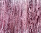 Old Wooden Texture Of Purple Color With Crack.  Wooden Painted Surface. Close Up Wood. Natural Fon.  poster