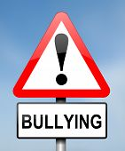 Bullying Concept. poster