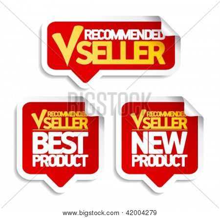 Recommended seller speech bubbles set.