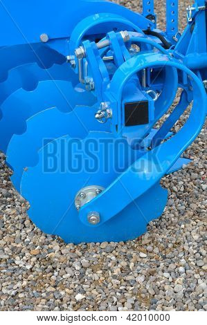 Blue Harrow Discs