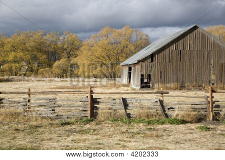 Old Rural Barn