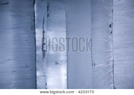 Light Through Blocks Of Ice