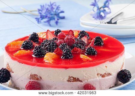 Fruit Yogurt Cake
