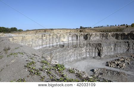 Quarry Wall Scenery