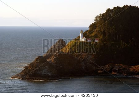 Heceta Head Lighthouse In Florence Oregon