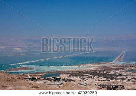 View of the Dead Sea