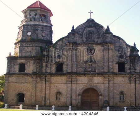 Panay Church In Roxas City