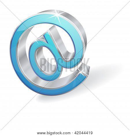 3D Internet-Vektor-Zeichen