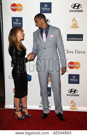 LOS ANGELES - FEB 9:  Kathy Griffin, Colin Kaepernick arrives at the Clive Davis 2013 Pre-GRAMMY Gala at the Beverly Hilton Hotel on February 9, 2013 in Beverly Hills, CA