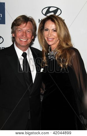 LOS ANGELES - FEB 9:  Nigel Lythgoe arrives at the Clive Davis 2013 Pre-GRAMMY Gala at the Beverly Hilton Hotel on February 9, 2013 in Beverly Hills, CA