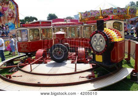 Ride. Children Ride. Leisure. Train.