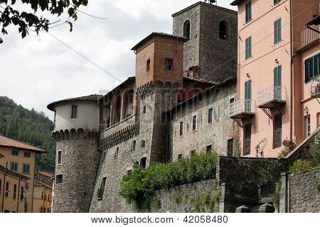 Castelnuovo di Garfagnana - Ariosto's Castle. Tuscany Italy