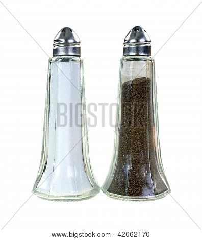Salt Pepper Shakers Pair
