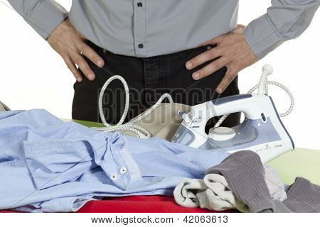 Ironing Clothes