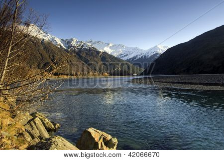 Mount Aspiring, Wanaka, New Zealand.