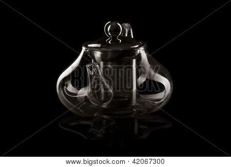 glass teapot shape