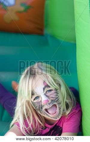 Girl With Facepaint