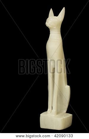 Statuette Of The Egyptian God. Nephrite.