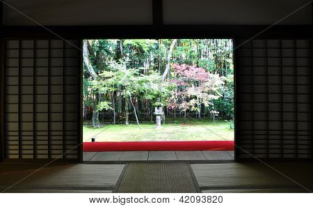 Japanese Garden In The Koto-in Temple - Kyoto, Japan