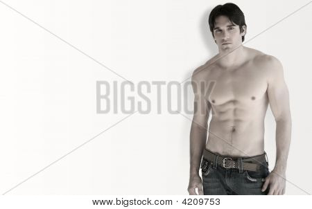 Shirtless Man