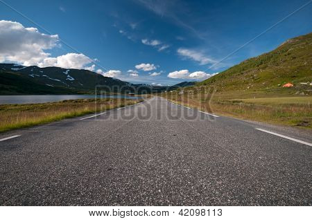 Road to Nordkapp/ Northcape, Norway, horizontal image