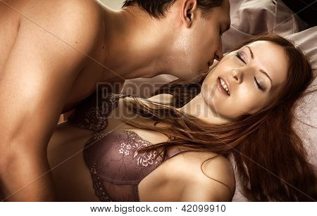 Beautiful Sexy Couple Of  Lovers