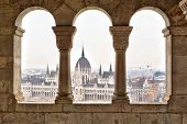View on Parliament form Fisherman's Bastion, Budapest