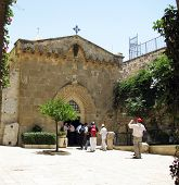 stock photo of golgotha  - JERUSALEM ISRAEL  - JPG