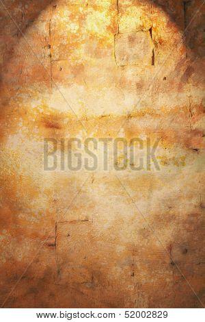 Rustic Wall Spotlight